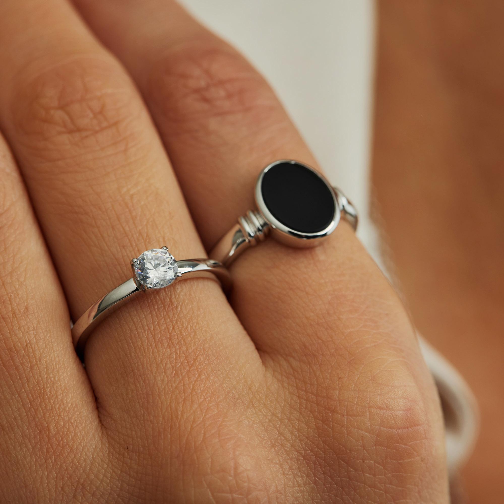 Parte di Me Bella Vita Milena anello in argento sterling 925