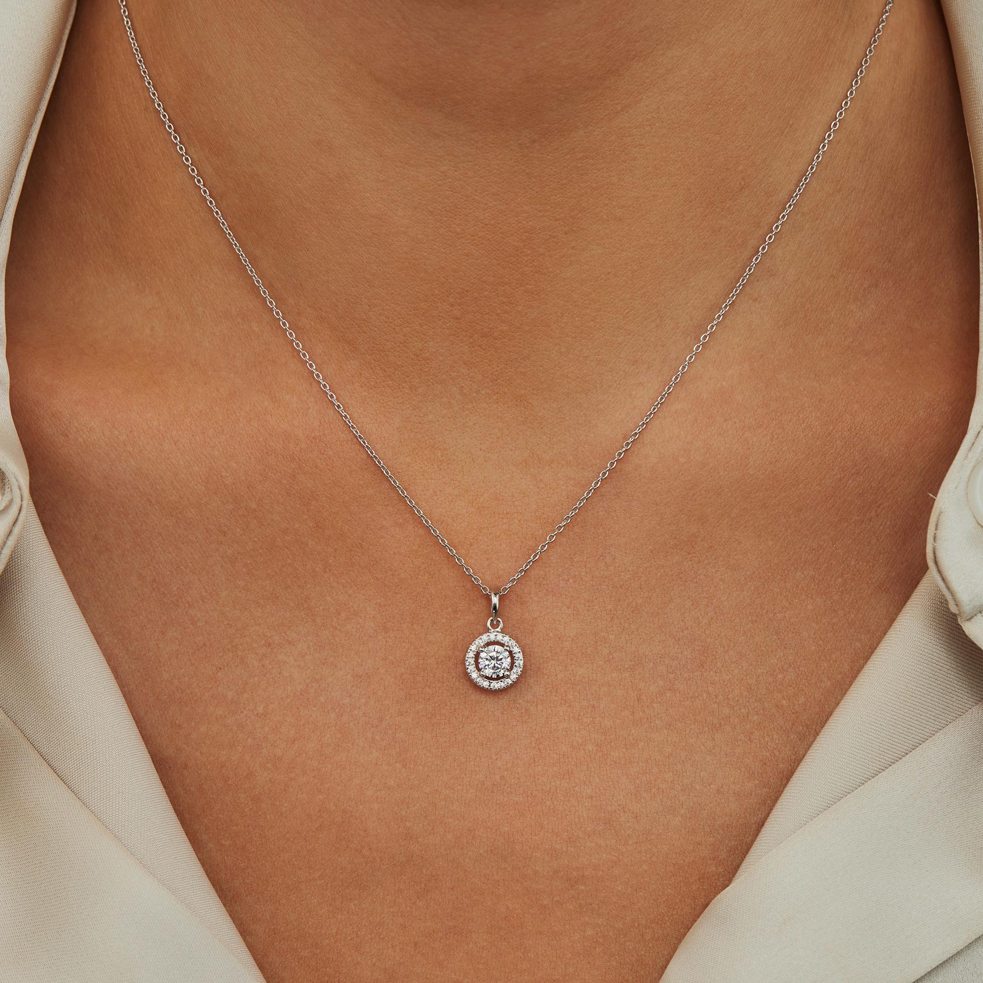 Parte di Me Luce Mia Dalia 925 sterling silver necklace with zirconia