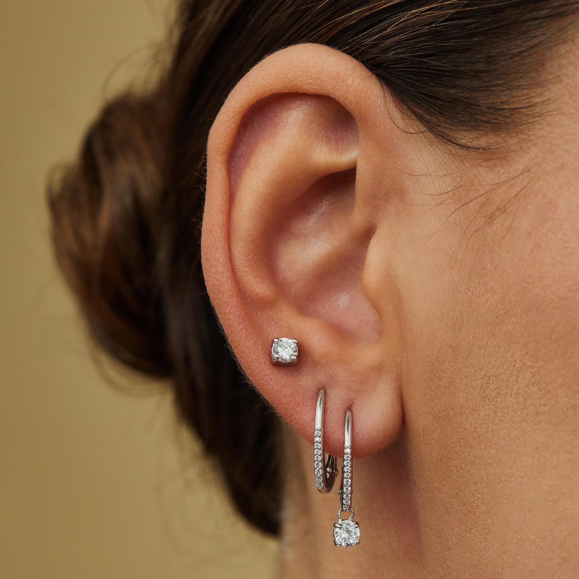 Parte di Me Sorprendimi boucles d'oreilles en argent sterling 925