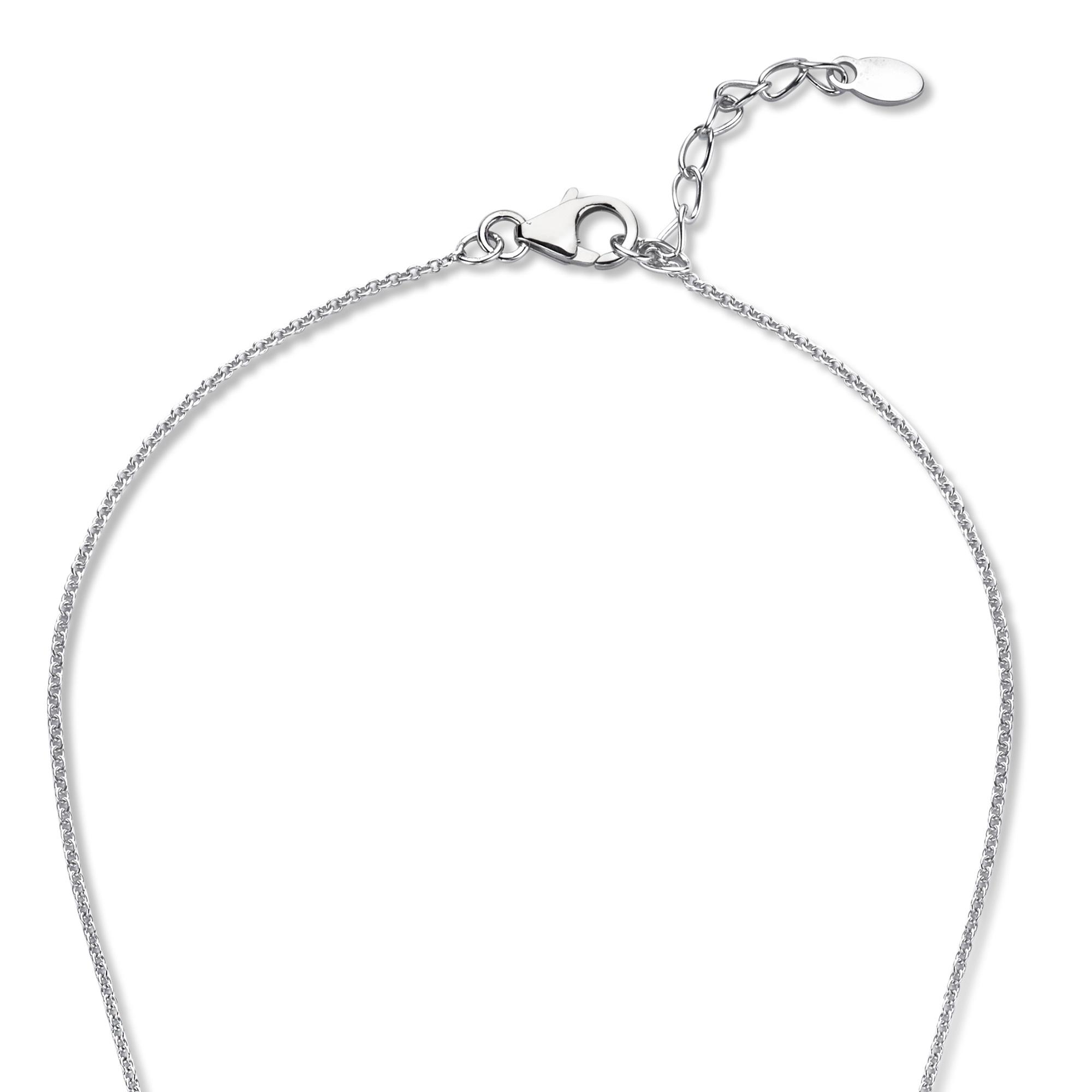 Parte di Me La Sirena Serchio 925 sterling silver necklace with black onyx