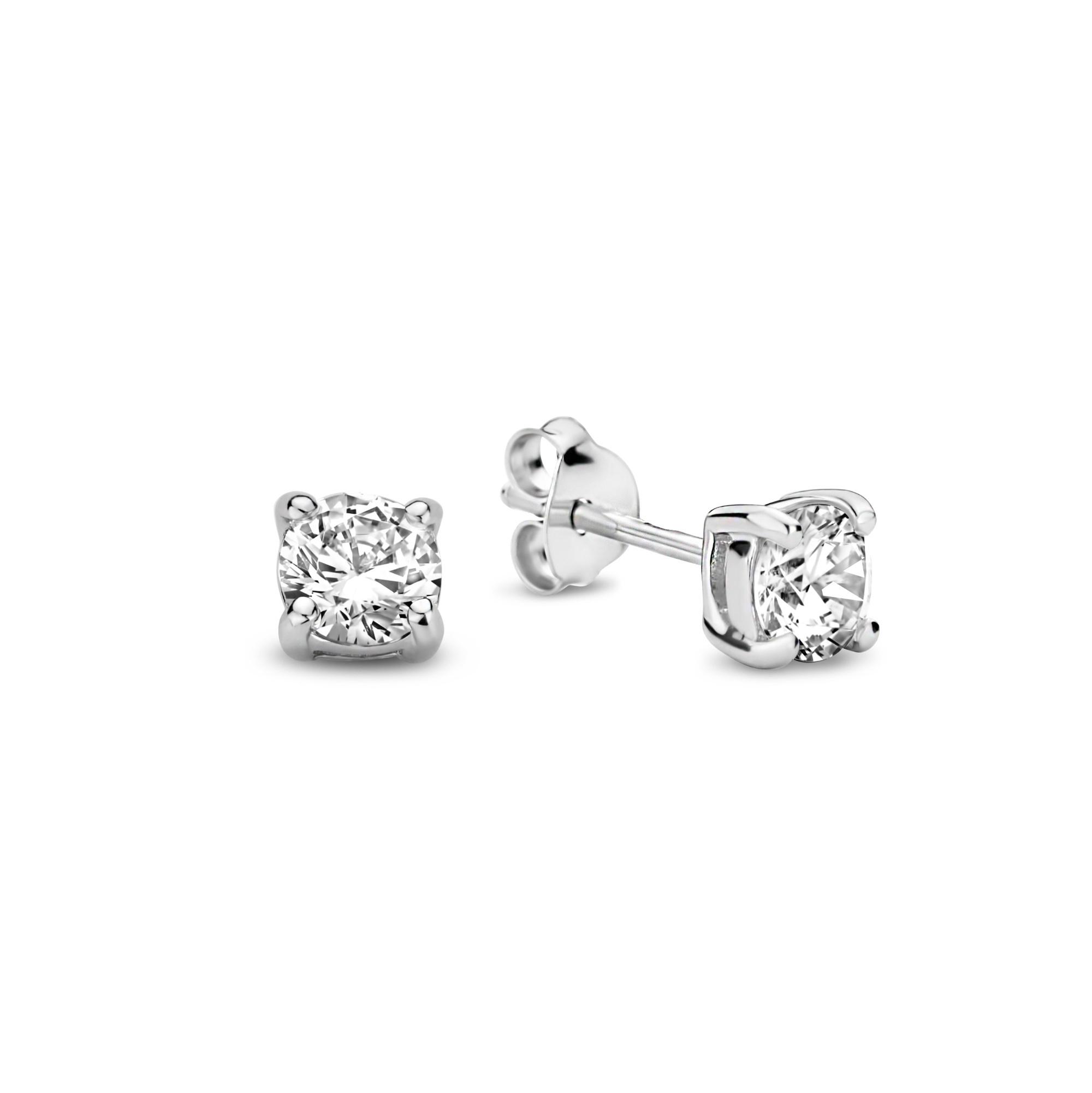 Parte di Me Sorprendimi 925 sterlin gsilver uppsättning örhängen, halsband och smyckeskrin
