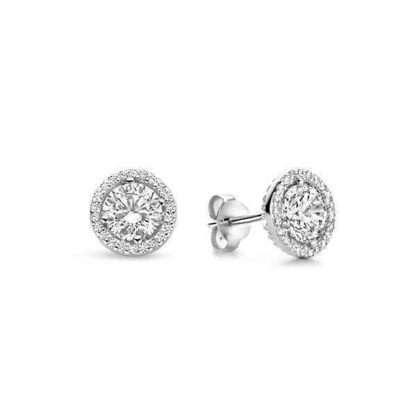 Parte di Me Luce Mia Dalia 925 sterling zilveren oorknoppen