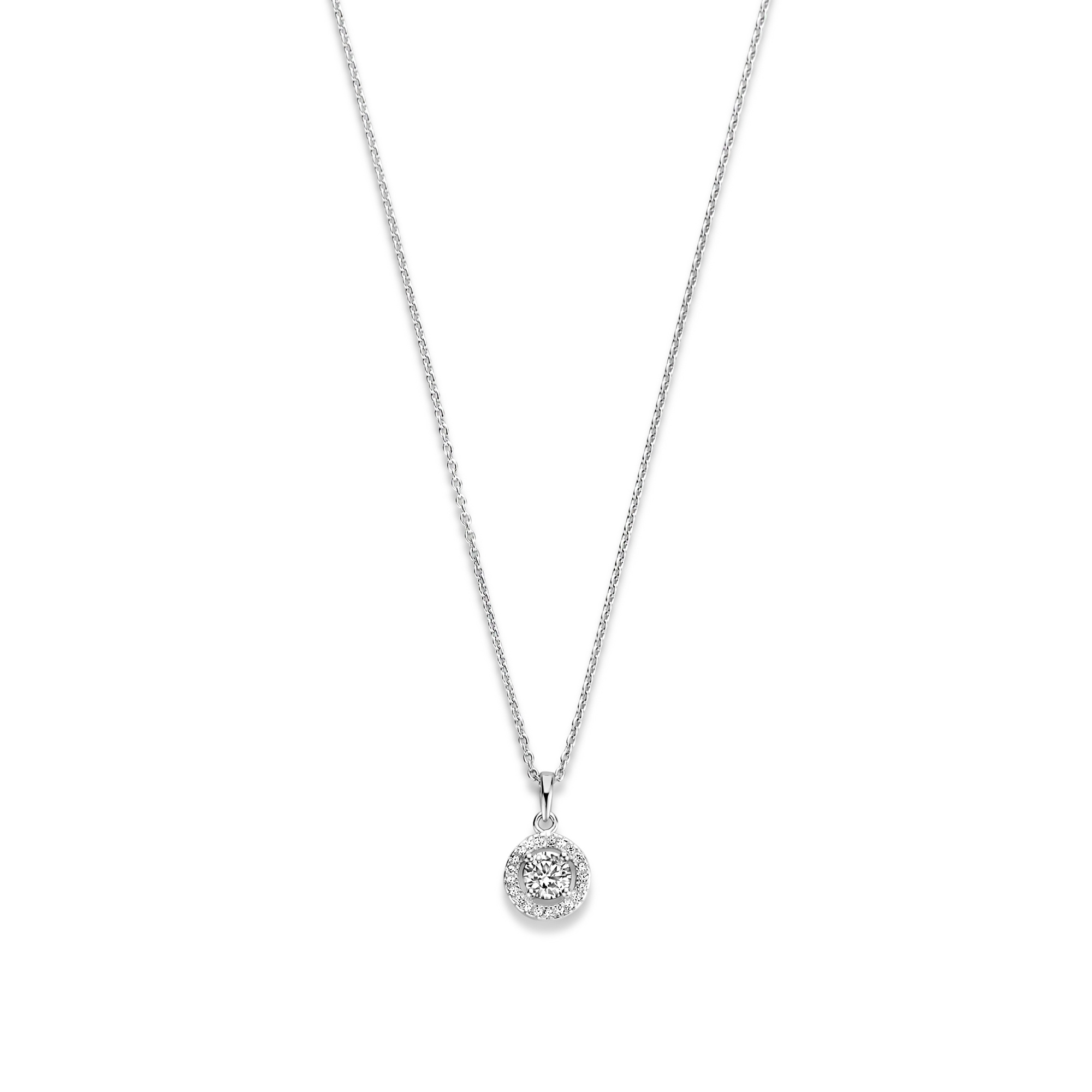 Parte di Me Luce Mia Dalia 925 sterling zilveren ketting met zirkonia