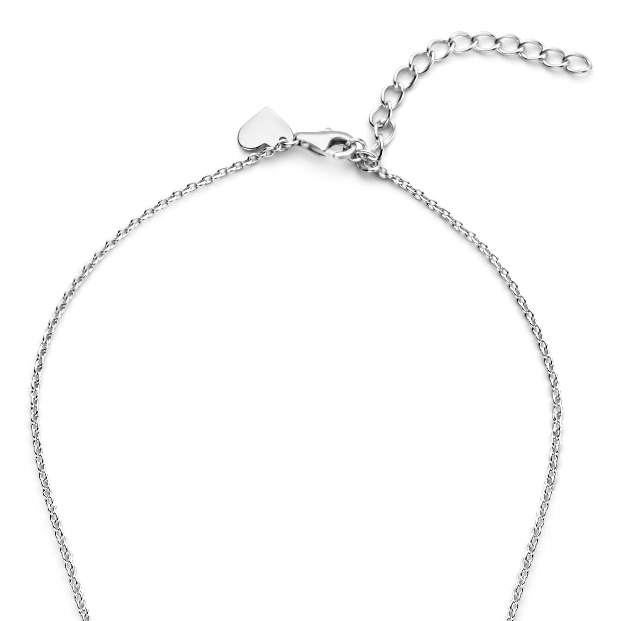 Parte di Me Cento Luci Rosia 925 sterling zilveren ketting