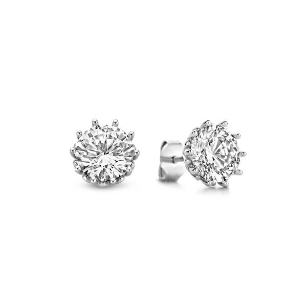 Parte di Me Cento Luci Maxima orecchini a bottone in argento sterling 925