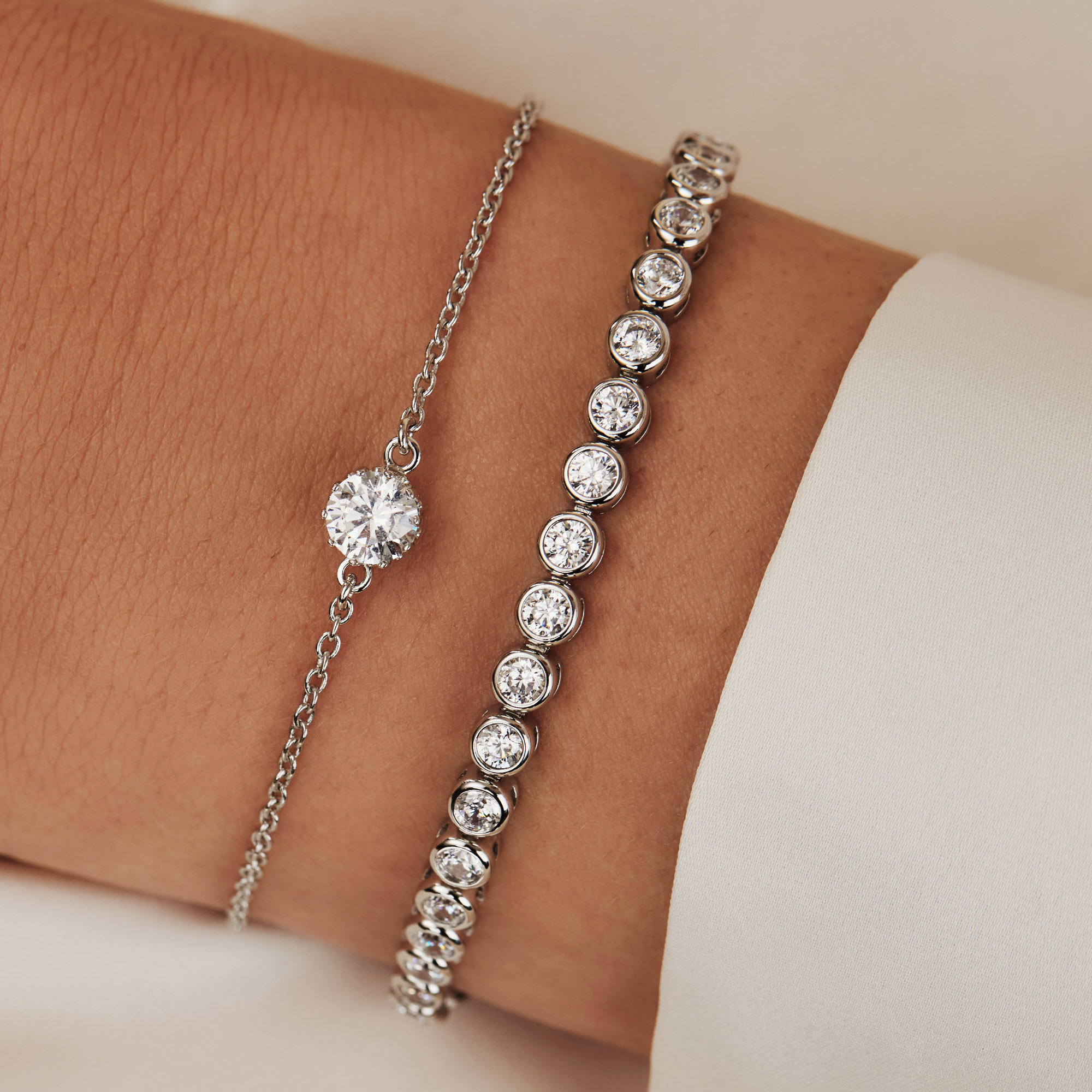 Parte di Me Cento Luci Rosia 925 Sterling Silber Armband