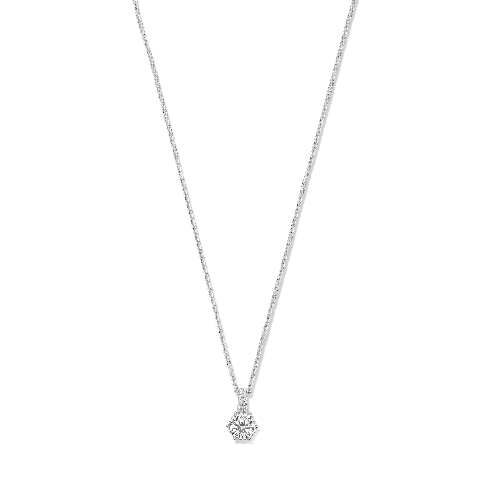 Parte di Me Bella Vita Sienna 925 sterling silver necklace with zirconia