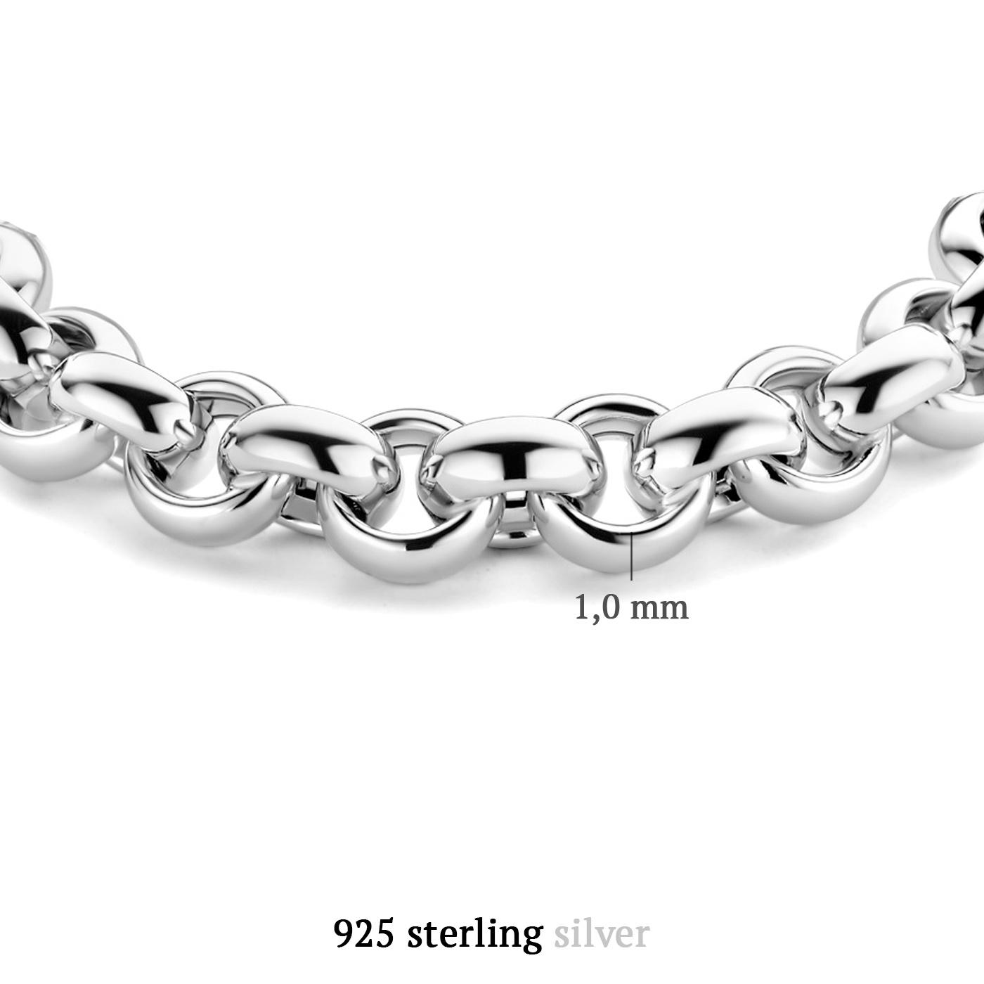 Parte di Me Bibbiena Poppi San Fedele 925 sterling zilveren armband