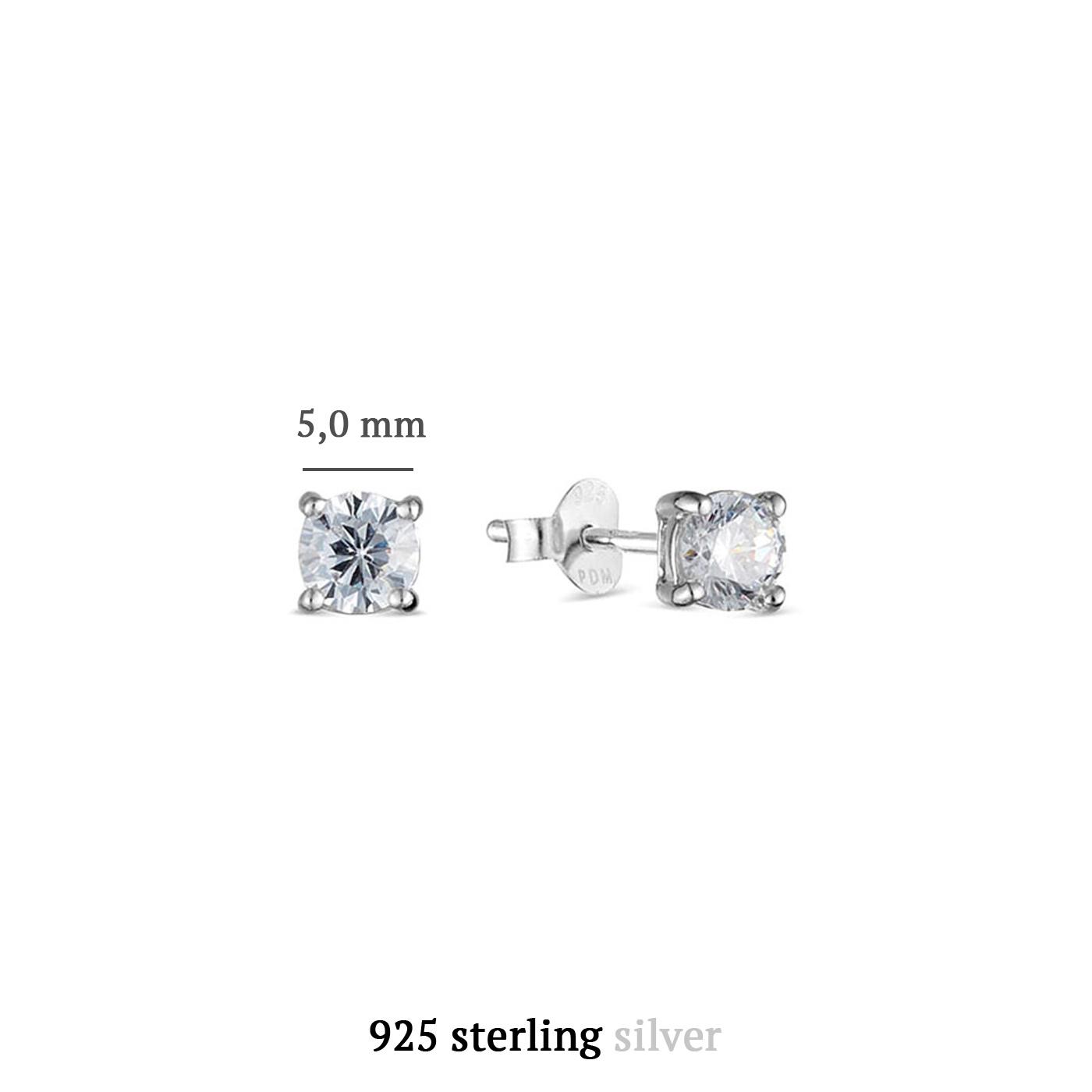 Parte di Me Sorprendimi 925 sterling silver set of 3 pairs of earrings