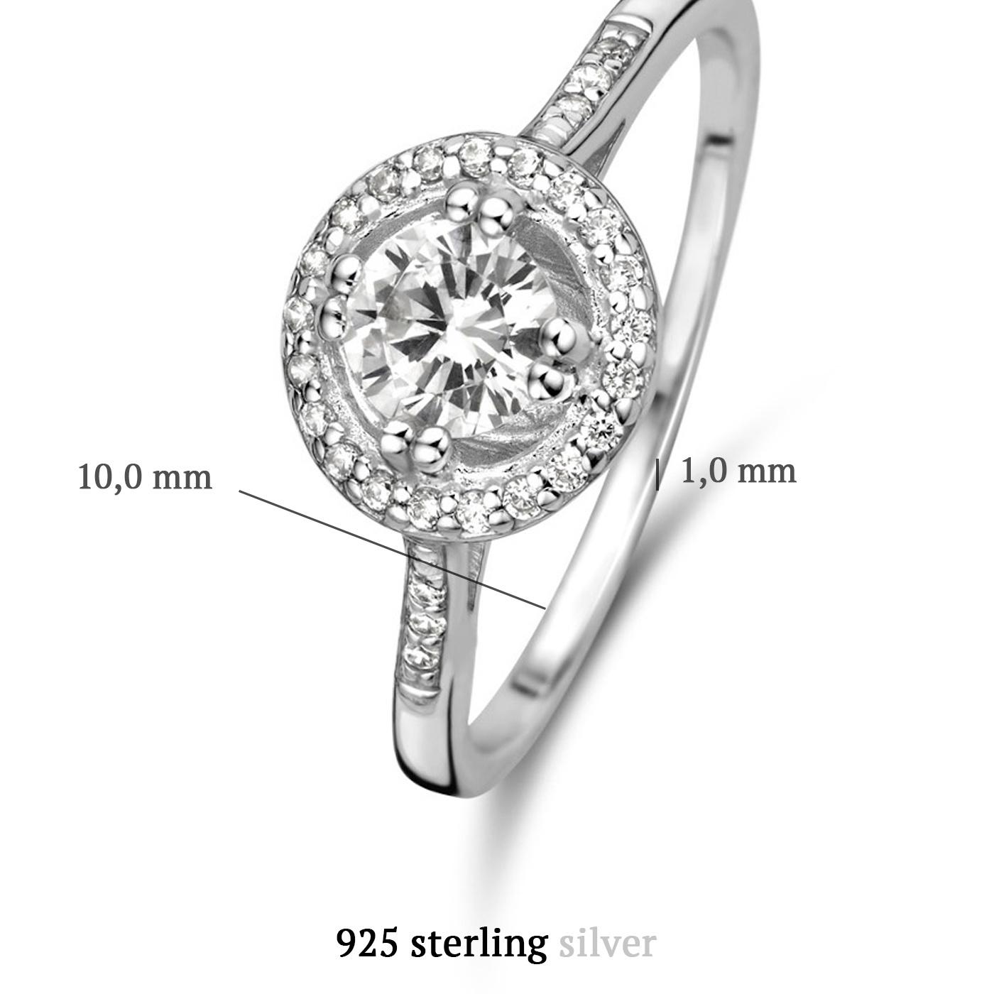Parte di Me Luce Mia Dalia 925 sterling silver ring with zirconia