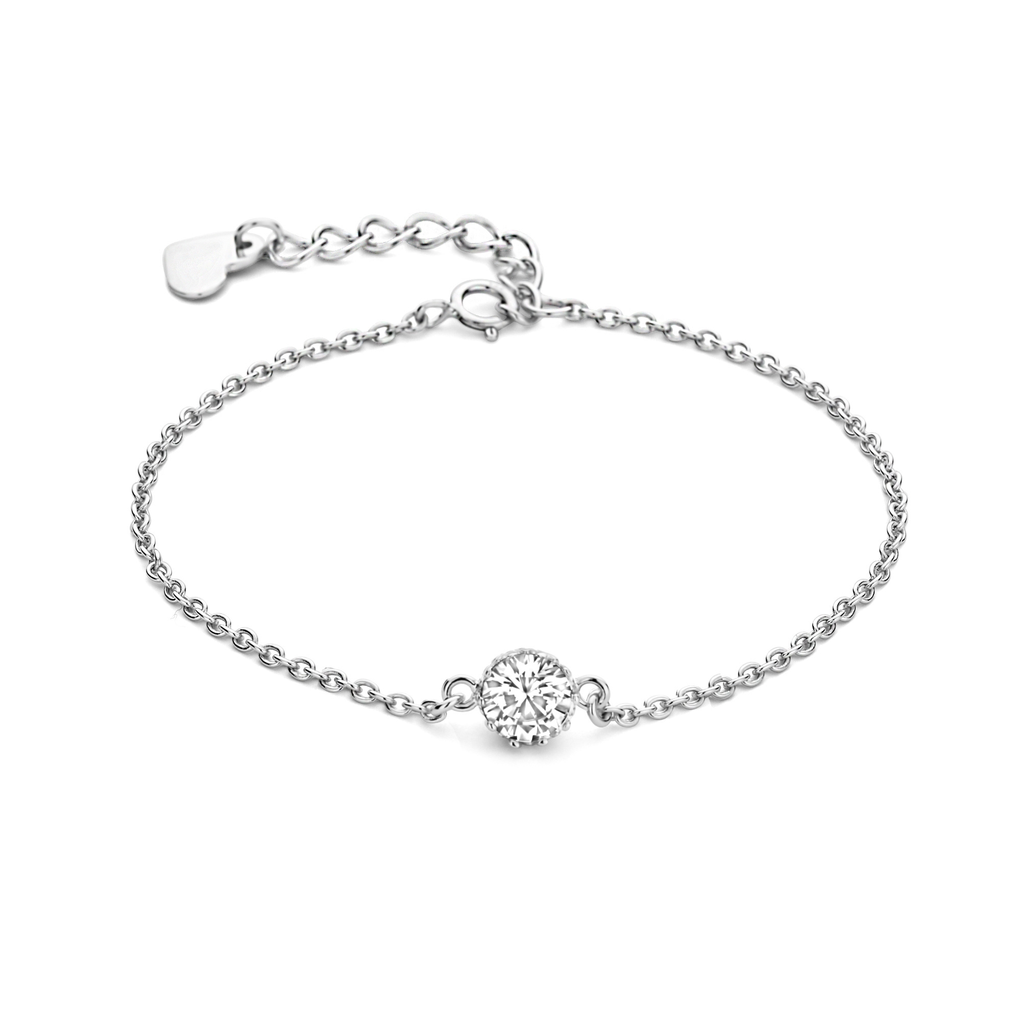Parte di Me Sorprendimi 925 sterling silver set necklace en bracelet
