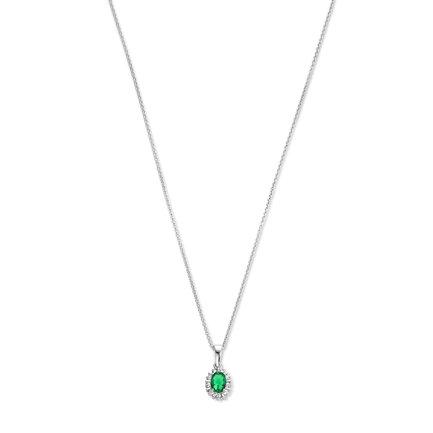 Parte di Me Mia Colore Verdi 925 Sterling Silber Kette