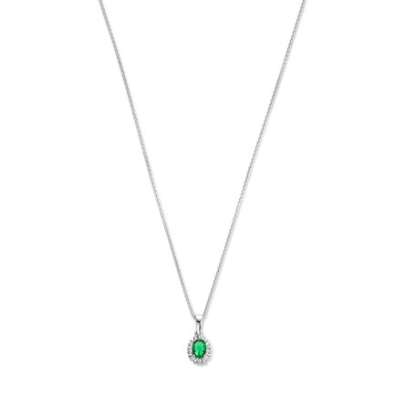 Parte di Me Mia Colore Verdi collier en argent sterling 925