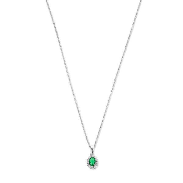 Parte di Me Mia Colore Verdi collana in argento sterling 925