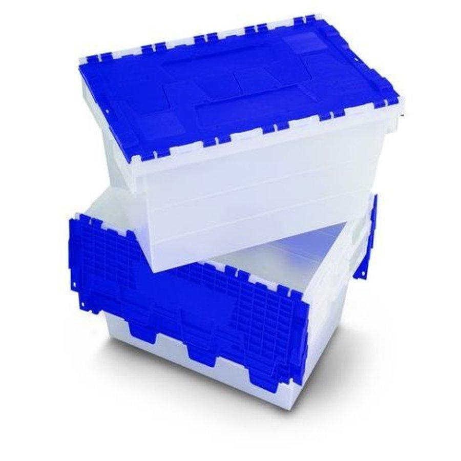 Wasbox wit en blauw-1