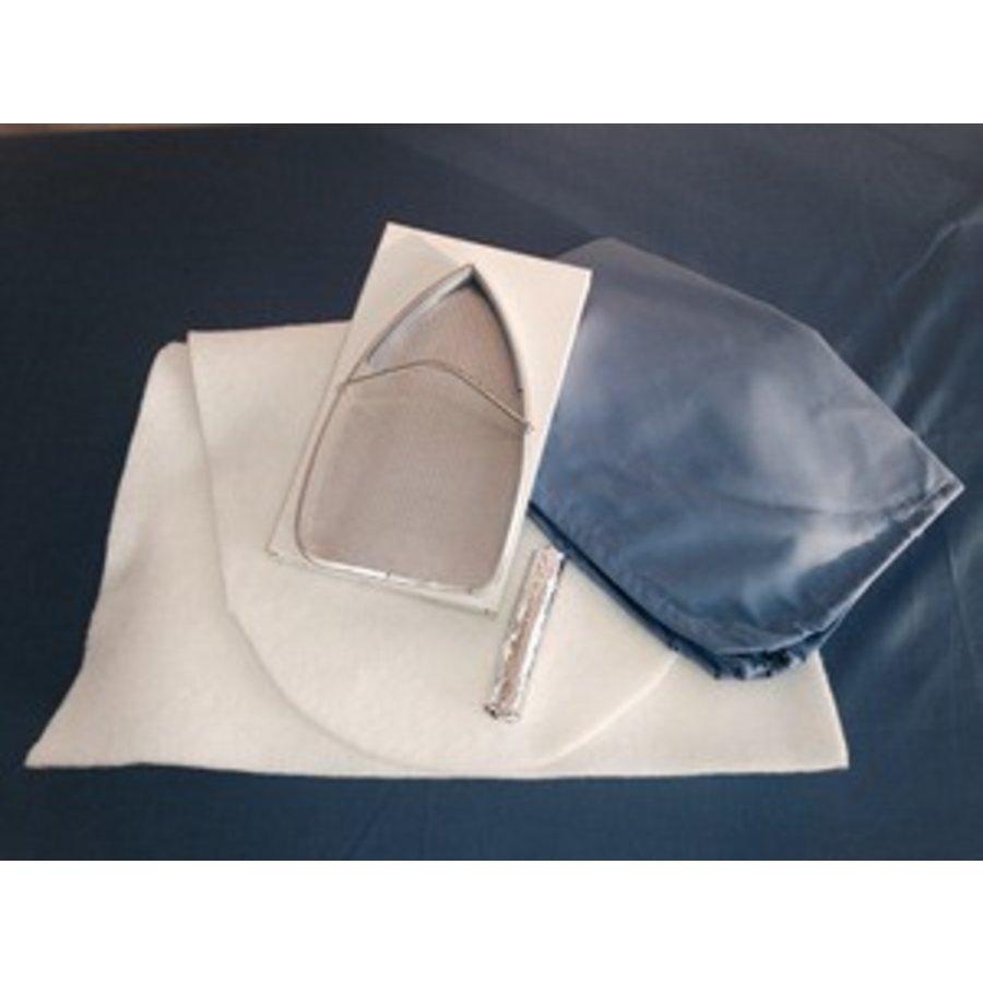 Opfrisset ovale strijktafel - BR-1