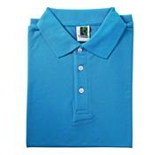 Overige merken Vitello Polo comfort fit L, aqua blauw, 1 stuk