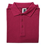 Overige merken Vitello Polo comfort fit S, bordeaux, 1 stuk