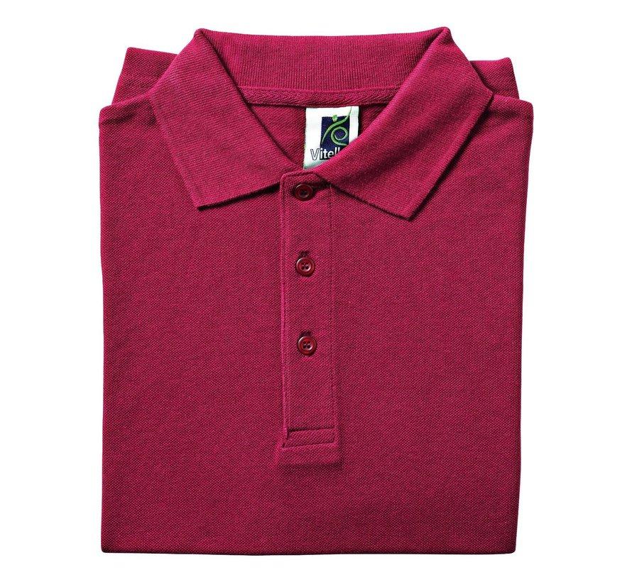 Vitello Polo comfort fit XL, bordeaux, 1 stuk