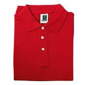 Overige merken Vitello Polo comfort fit XL, rood, 1 stuk