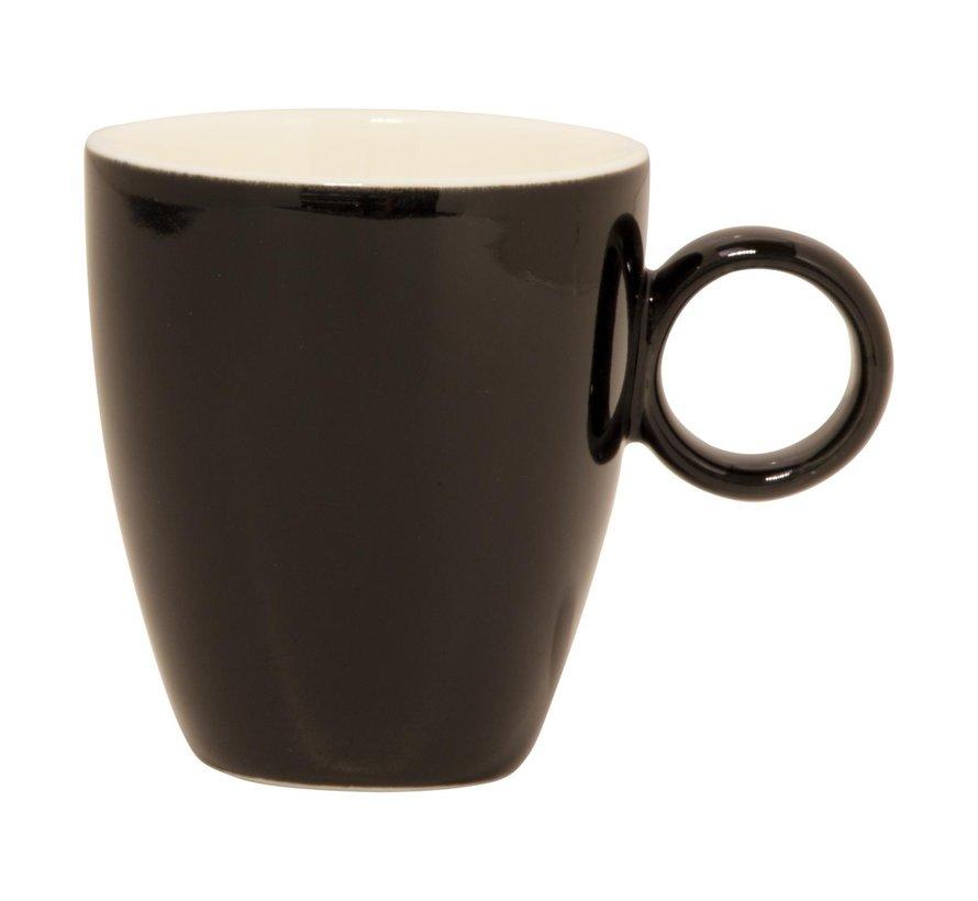 Maastricht Espressokop 6,5 cl zwart, 1 stuk