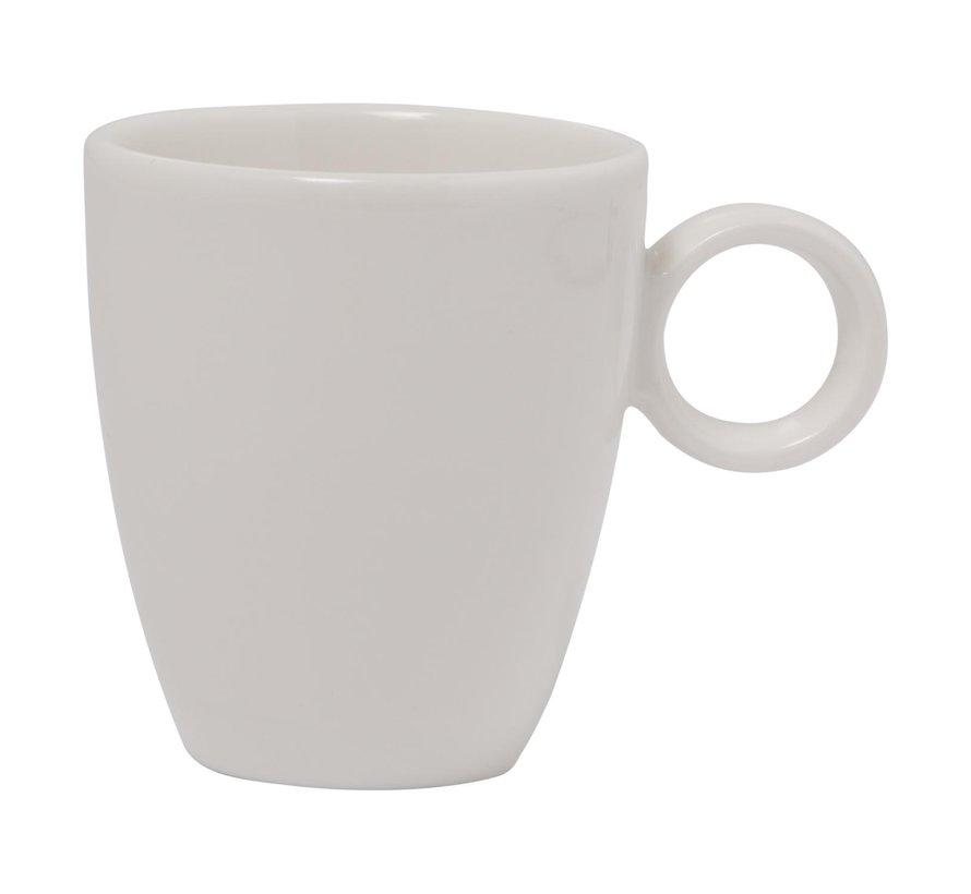 Maastricht Espressokop 6,5 cl wit, 1 stuk