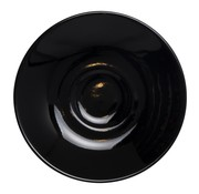 Overige merken Maastricht Espressoschotel 11 cm zwart, 1 stuk