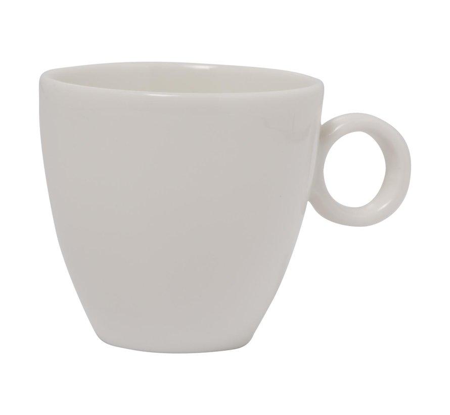 Maastricht Koffiekop 17 cl wit, 1 stuk