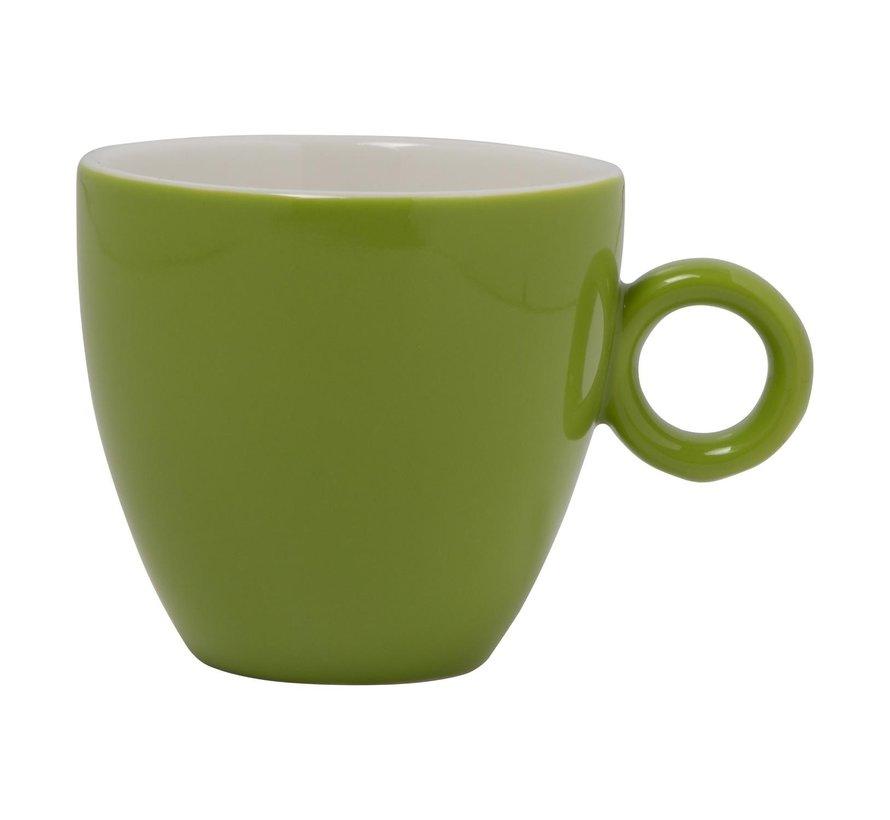 Maastricht Koffiekop 17 cl lichtgroen, 1 stuk