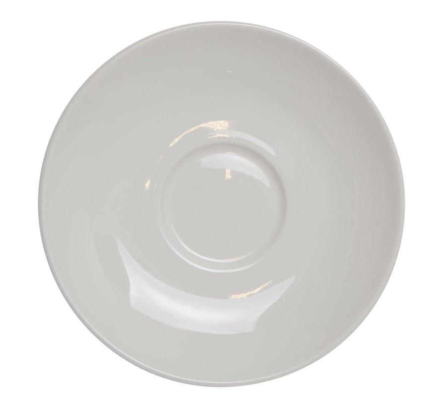 Maastricht Koffieschotel 13,5 cm wit, 1 stuk