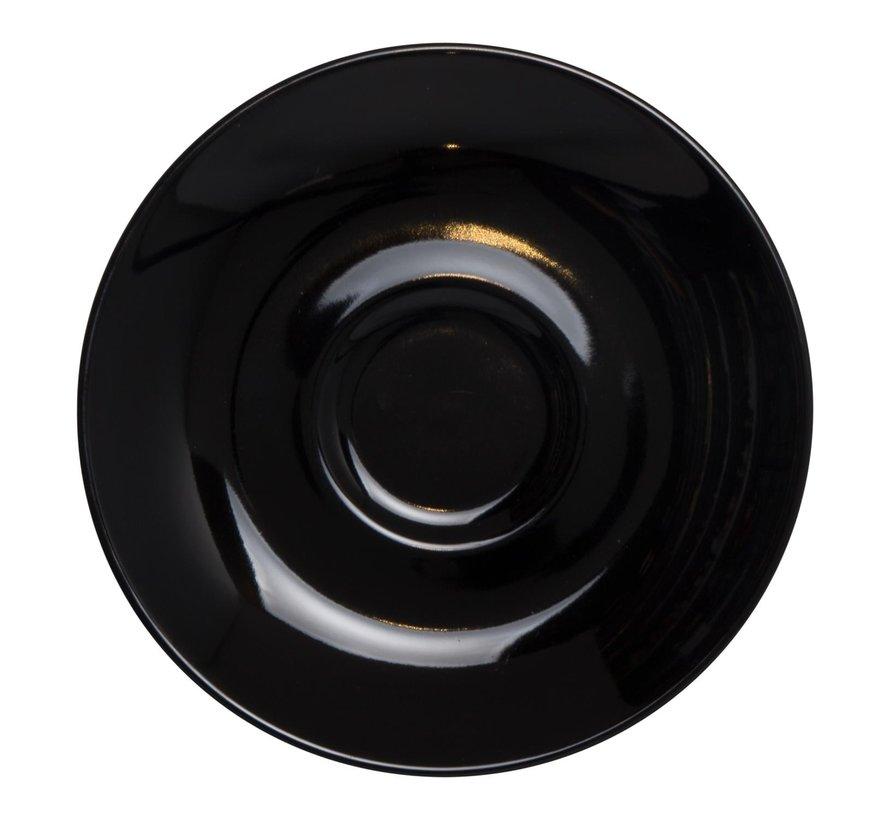 Maastricht Koffieschotel 13,5 cm zwart, 1 stuk