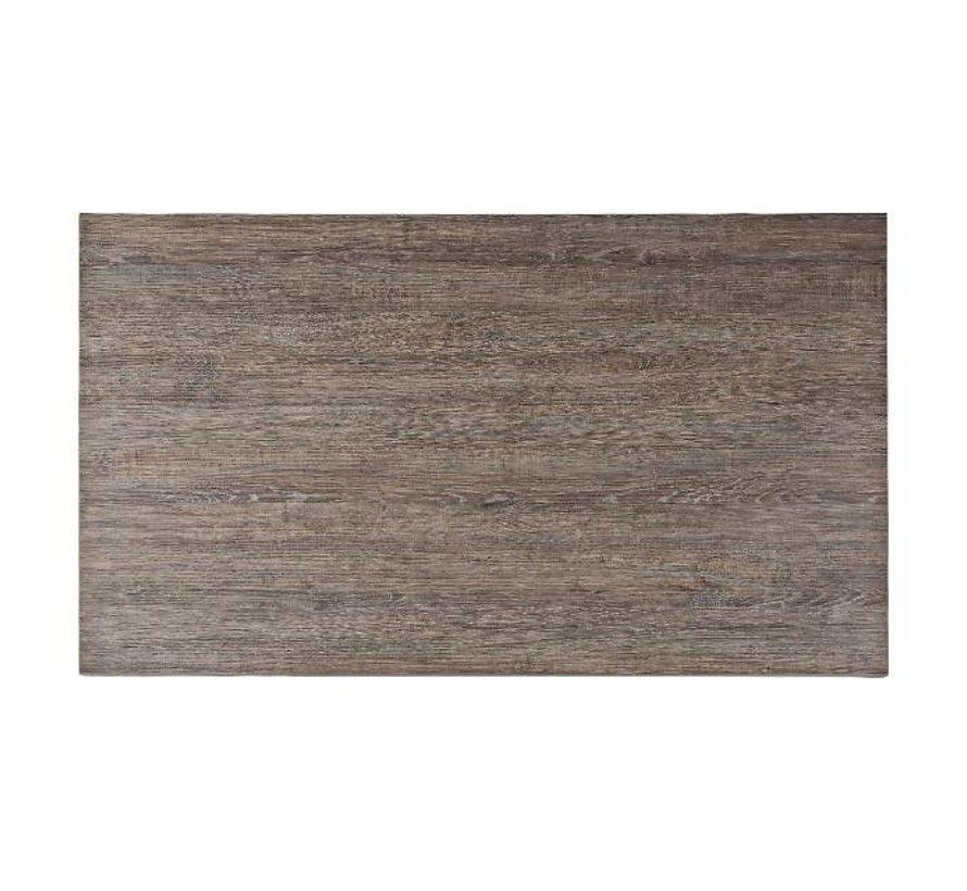 Blad Melamine Logan Eiken 120 cm x 70 cm, 1 stuk