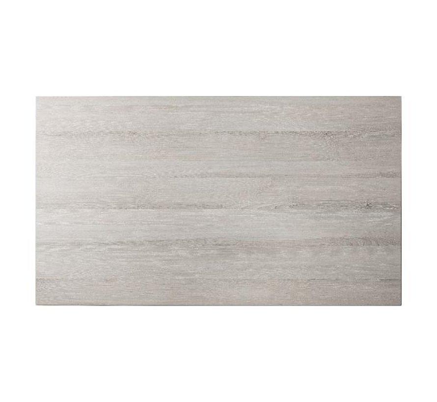 Blad Melamine 120 cm x 70 cm, molina essen grijs, 1 stuk