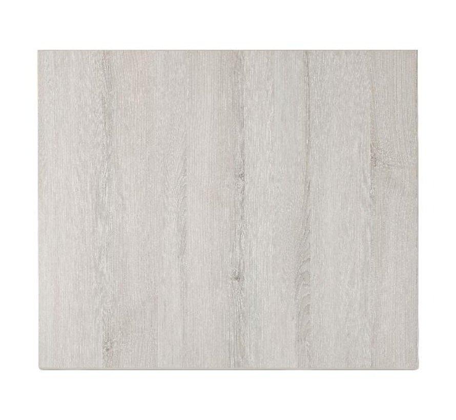 Blad Melamine Molina Essen grijs, 60 cm x 70 cm, 1 stuk