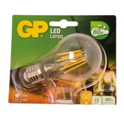 Overige merken Gp LED-lamp Filament Classic 6-60W E27, 1 stuk