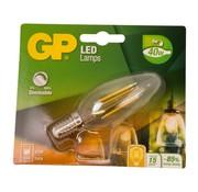 Overige merken Gp LED-lamp Filament Kaars 5-40W E14 dimbaar, 1 stuk