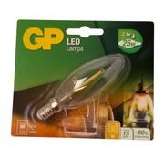 Overige merken Gp LED-lamp Filament Kaars 2-25W E14, 1 stuk