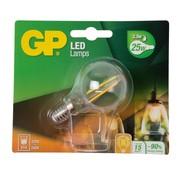 Overige merken Gp LED-lamp Filament Mini Globe 2-25W E14, 1 stuk