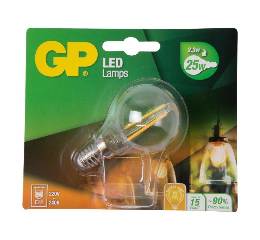 Gp LED-lamp Filament Mini Globe 2-25W E14, 1 stuk