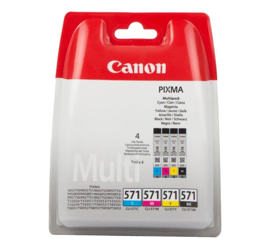 Canon Inktcartridge CLI 571 Multipack, 1 stuk