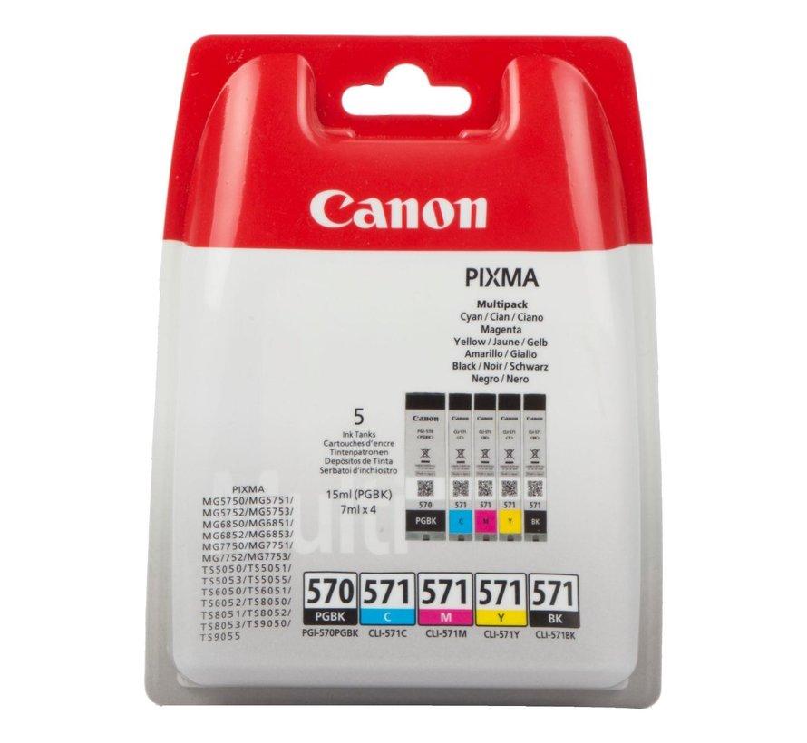 Canon Inktcartridge PGI-570 Multipack, 1 stuk