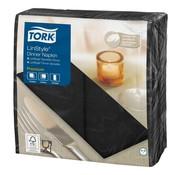 Overige merken Tork Servetten 8 V zwart, 39 x 39 cm, 50 stuks