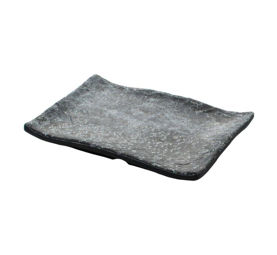 Cheforward Schaal rechthoekig marmer zwart 28 x 19 cm, 1 stuk