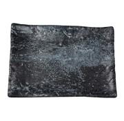 Overige merken Cheforward Schaal rechthoekig marmer zwart 40 x 27,5 cm, 1 stuk