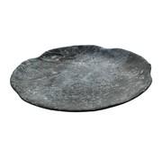 Overige merken Cheforward Bord marmer zwart 25,5 cm, 1 stuk