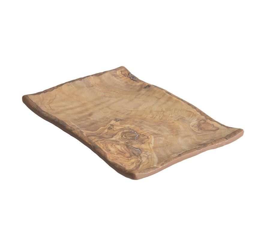 Cheforward Schaal rechthoekig hout 13,5 x 10 cm, 1 stuk