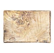 Overige merken Cheforward Schaal rechthoekig hout 28 x 19 cm, 1 stuk