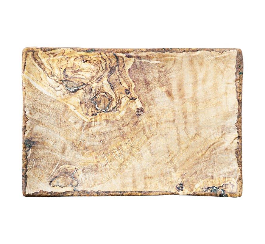 Cheforward Schaal rechthoekig hout 28 x 19 cm, 1 stuk