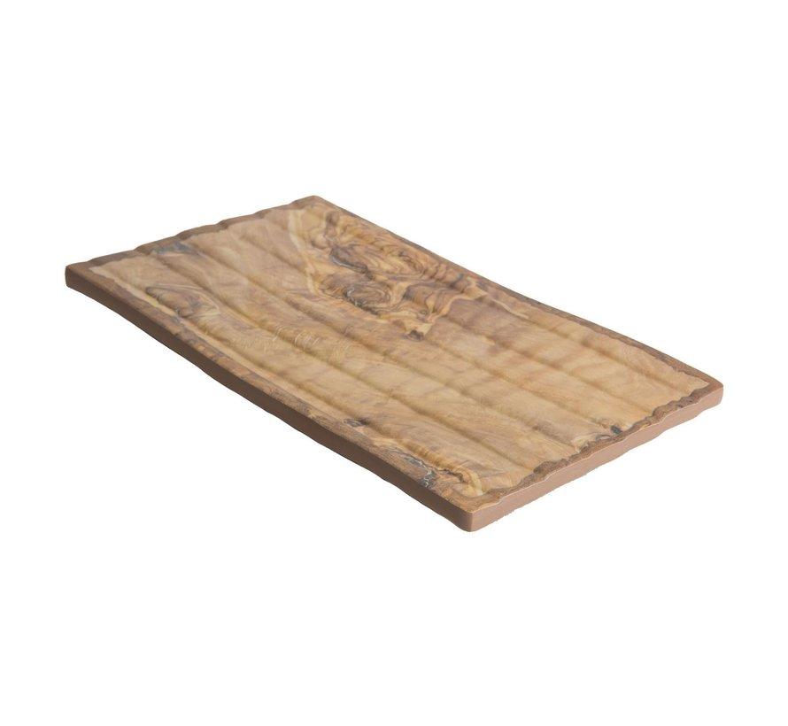 Cheforward Schaal rechthoekig hout 27 x 15,5 cm, 1 stuk