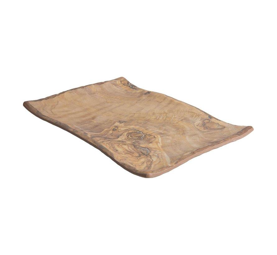 Cheforward Schaal rechthoekig hout 40 x 27,5 cm, 1 stuk